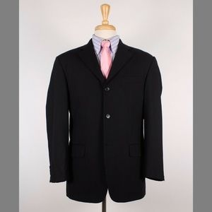 Missoni 40S Black Three Button Sport Coat Y714